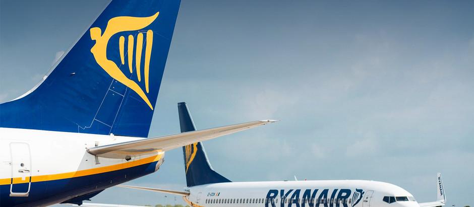 Ryanair opet pomera početak letova iz Niša - umesto u martu, Bergamo i Malta u maju