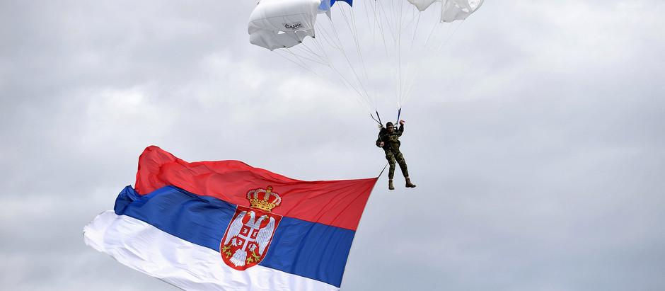 Na vojnom delu aerodroma u Nišu obeležen Dan 63. padobranske brigade
