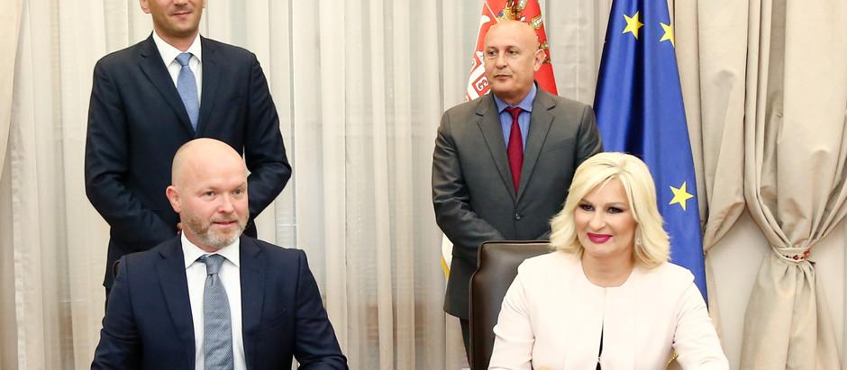 Vlada Srbije potpisala ugovor za linije od javnog intеrеsa sa Air Serbijom