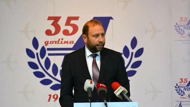 Održana svečanost povodom 35. godišnjice rada niškog aerodroma