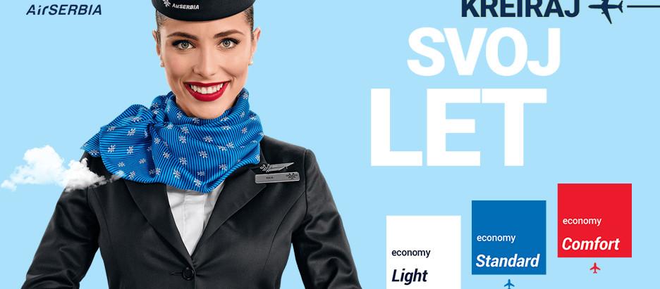 Upoznajte se sa tarifama na letovima Air Serbije iz Niša