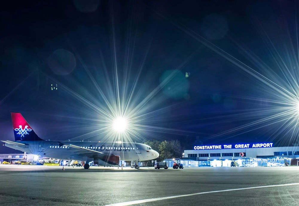 Airport Niš, Serbia