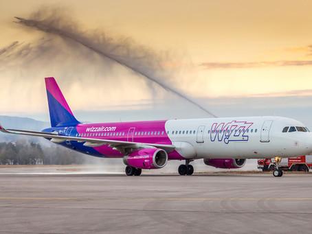 Wizz Air - naredne godine 4x nedeljno za Malme, tokom novogodišnjih praznika dodatni letovi za Bazel