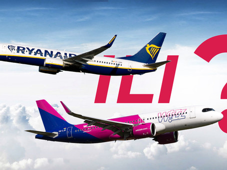 Wizz Air vs. Ryanair dva diva vazuhoplovstva – koja je kompanija bolja?