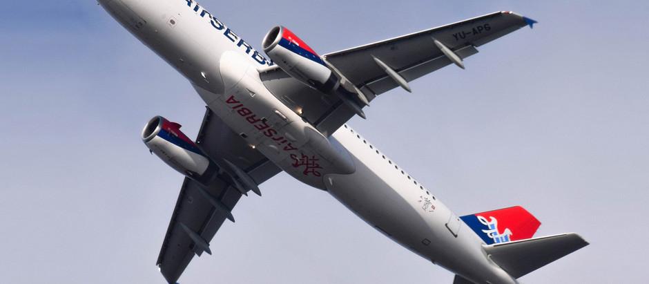 Air Serbia obnovila sezonske letove na liniji Niš-Tivat