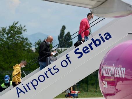 Na niškom aerodromu u prva dva meseca  94,5% manje putnika nego u istom periodu prošle godine