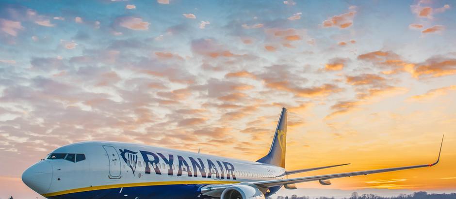 Ryanair danas obnovio letove na liniji Niš-Berlin