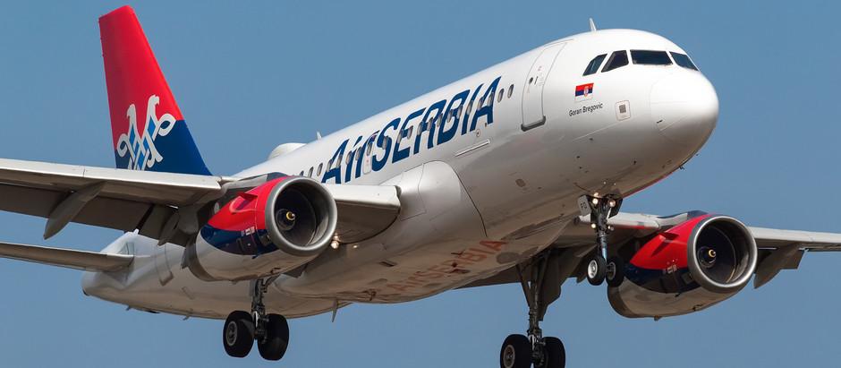 Avion Air Serbije na liniji Niš- Frankfurt prinudno sleteo u Beograd zbog tehničkih problema
