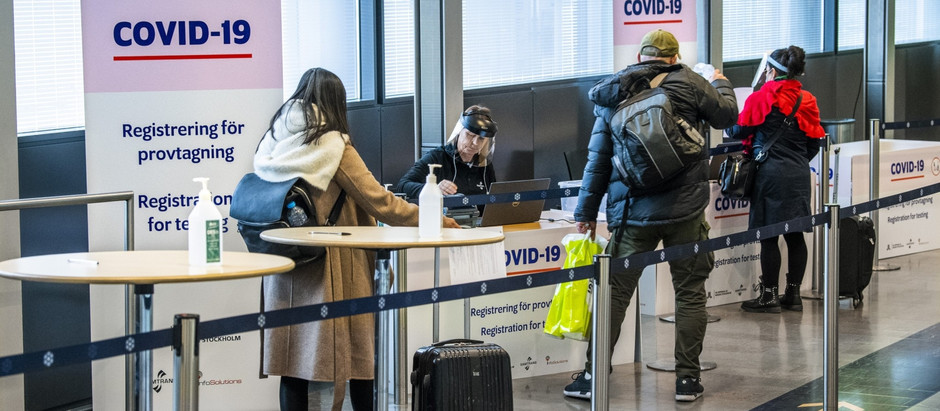 Najvnovija vest: Švedska zatvara vrata svim putnicima iz Srbije