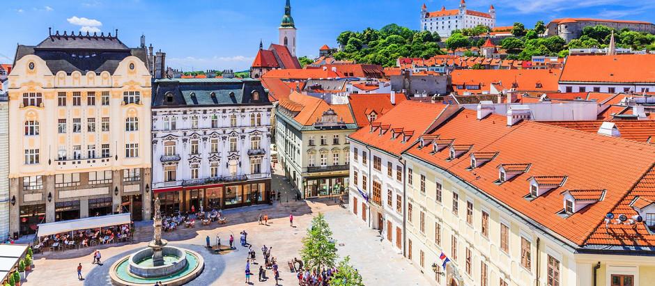 Bratislava - mala šarmantna prestonica centralne Evrope