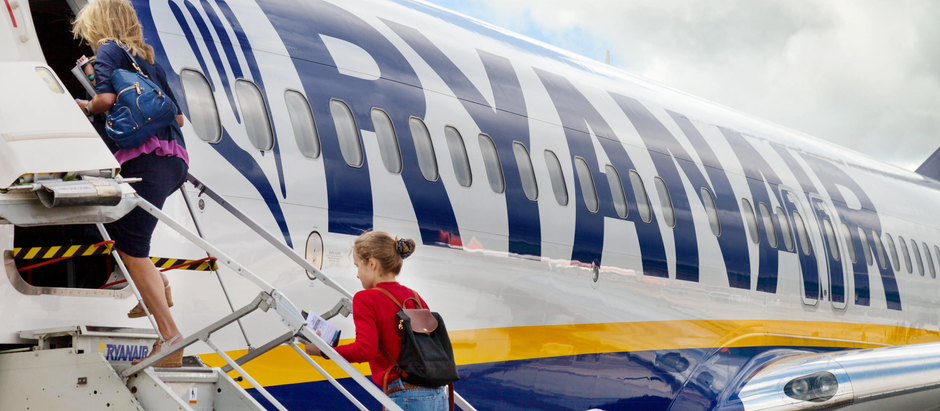 Putnik kompanije Ryanair primetio čudan detalj tokom leta - da li je to i vama zapalo za oko?