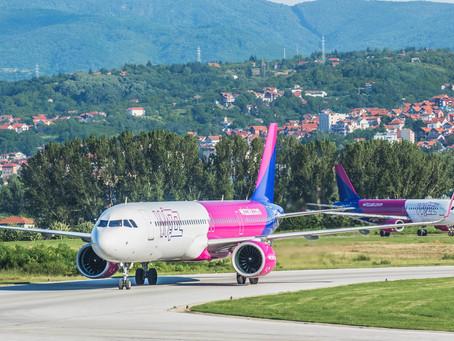 Wizz Air ponovo objavio izmene na letovima sa aerodroma Konstantin Veliki