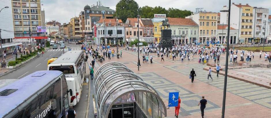 Protest turističkih radnika u Nišu -  najveći strah od gubitka posla