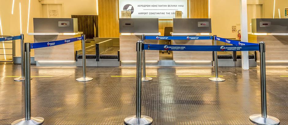 Na niškom aerodromu zabeležen rast broja putnika u maju od 3,7%