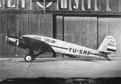 84. godina od početka letova sa niškog aerodroma
