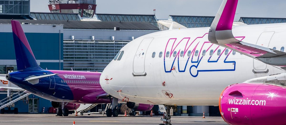 Wizz Air ponovo uvodi letove Niš-Beč od 17. decembra