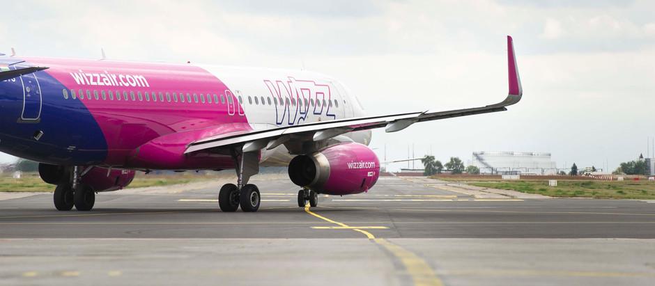 Avion Wizz Air-a koji je preusmeren zbog lošeg vremena u Beograd sleteo u Niš