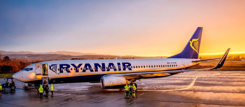 Ryanair najavio novu sezonsku liniju Niš-Krf od 4.jula