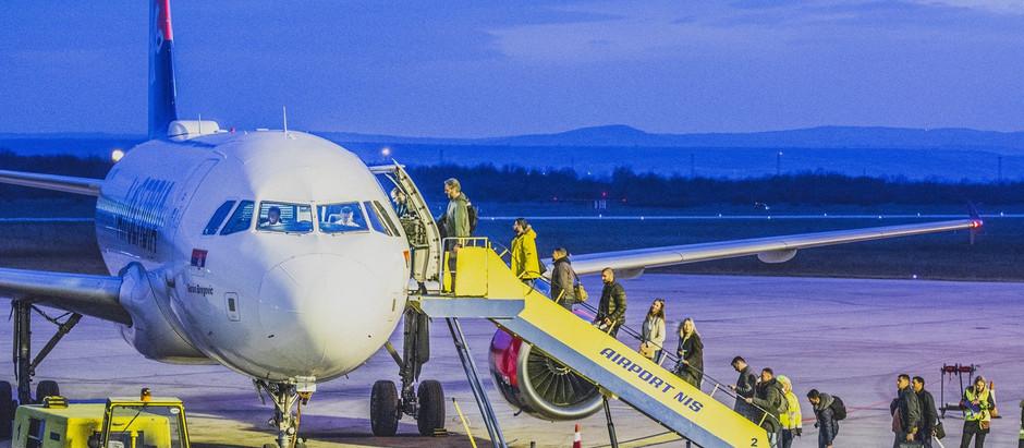 NAJNOVIJA VEST: Od 23. avgusta kreću letovi na liniji Niš-Tivat