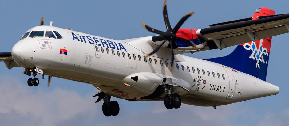 Air Serbia obnovila letove iz Kraljeva do Beča