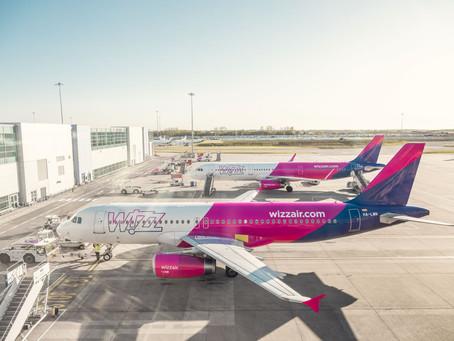Wizz Air obnovio letove Niš-Malme i Niš-Memingen