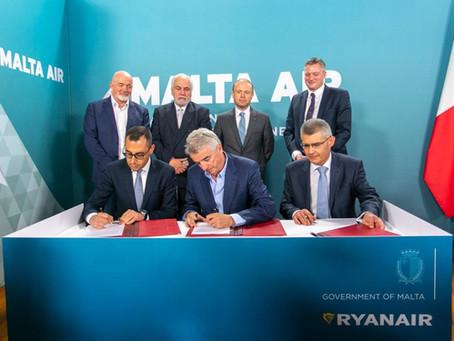 Potvrdjeno: Ryanair preuzeo Malta Air, očekuje se pristup tržištima van EU
