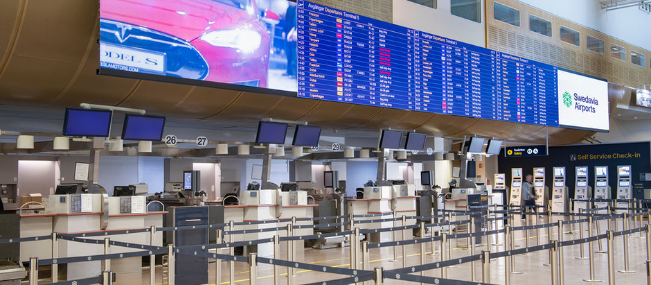 Upoznajte aerodrom Arlanda najveći aerodrom u Švedskoj do koga ćemo od oktobra leteti iz Niša