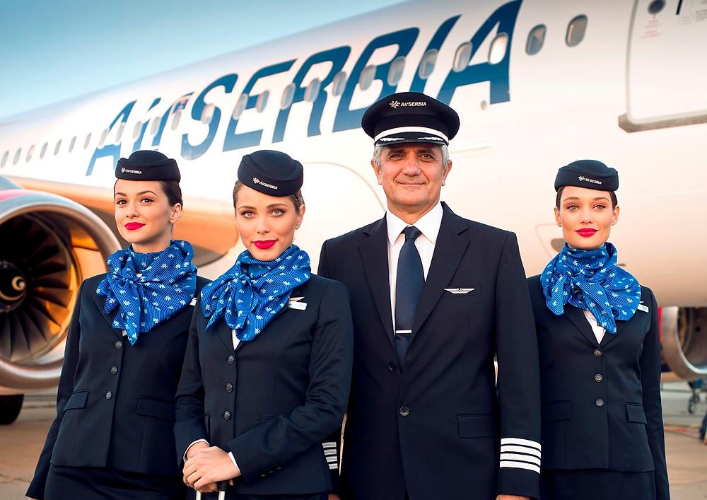 Cabin crew Air Serbia, flynaissus