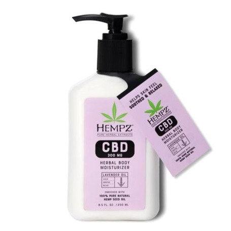 CBD Aromatherapy Lavender Oil Herbal Body Moisturizer