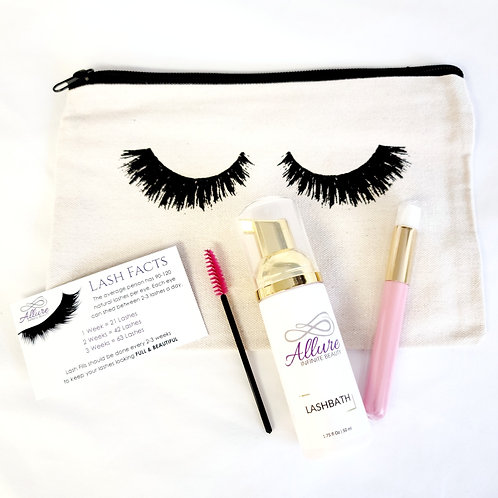 Eyelash Extensions After Care Kit