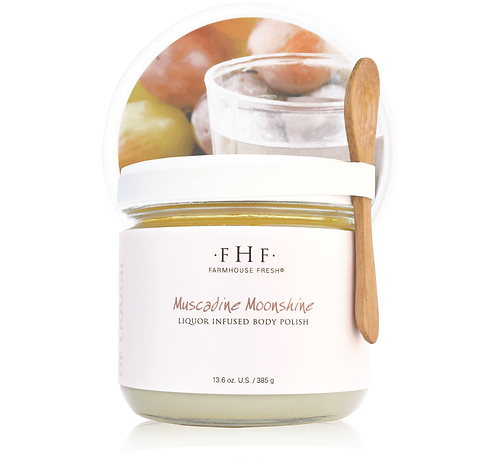 Muscadine Moonshine Liquor Infused Body Polish