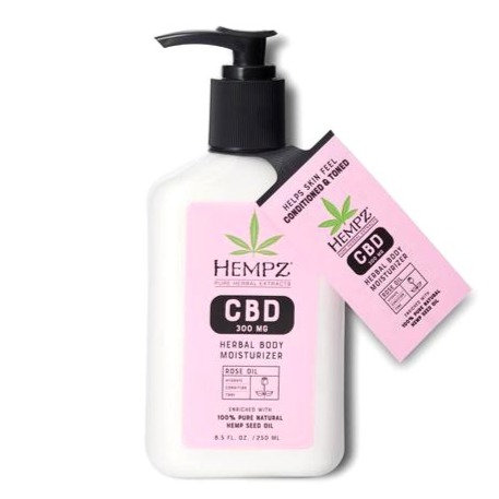 CBD Aromatherapy Rose Oil Herbal Body Moisturizer