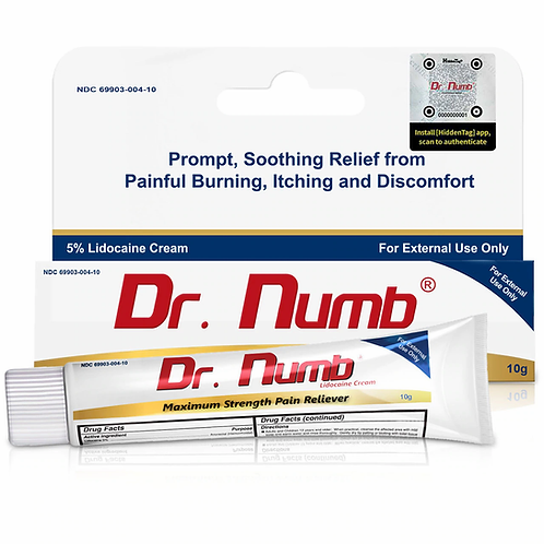 Dr. Numb 5% Lidocaine Cream