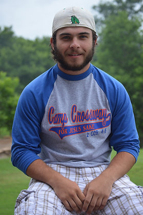 "Baseball Style ""For Jesus Sake"" Tshirt"