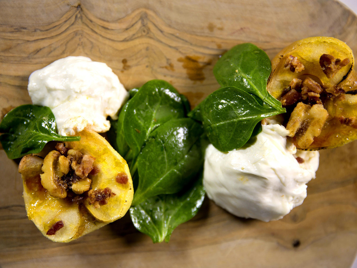 Burrata and Apple Salad