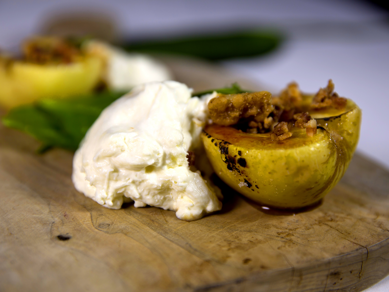 Burrata and Apple Salad