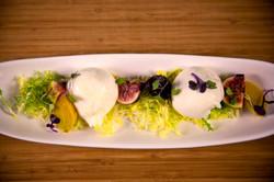 Burrata and Fig Salad