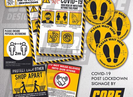 COVID-19 | Post Lockdown Signage