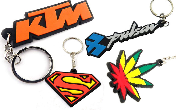 Silicone Keychain Design and Manufacturing