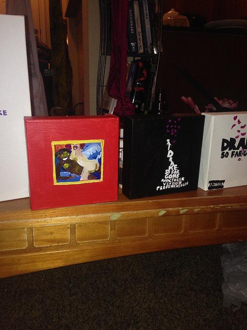 4in album acrylic album covers