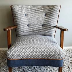 1940's Scandinavian Traditional upholstery