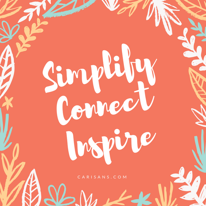 When we simplify, we connect, and we inspire.