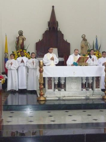 Misa en honor a la Virgen María