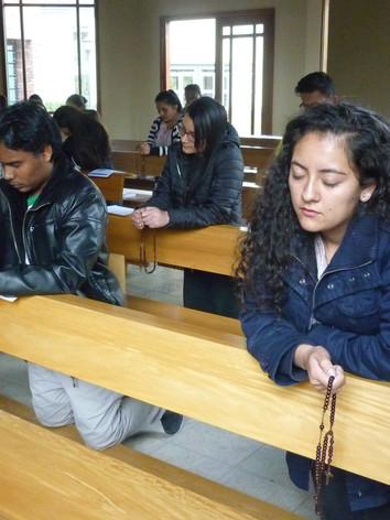 Retiro de la Pastoral Universitaria