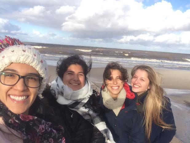 Stefanía en Uruguay