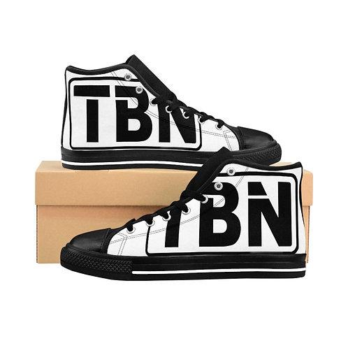 TBN Logo High-top Sneakers