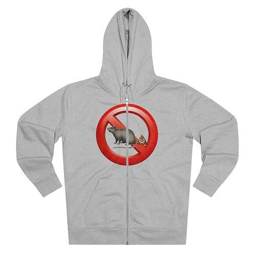 No Rat Sh!t - Zip Hoodie - Unisex