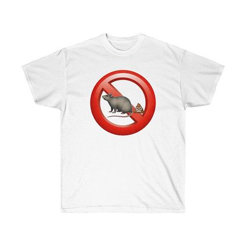 No Rat Sh!t - Cotton Tee
