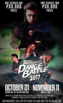 UBelt Dance Battle Poster Study