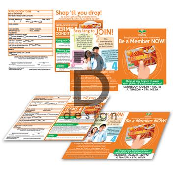 Isetann's Reward Card Registration Form Print Study